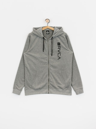 Mikina s kapucu00ed RVCA Cage HD (heather grey)