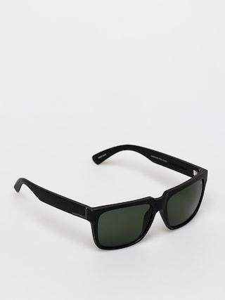 Sluneu010dnu00ed bru00fdle Quiksilver Bruiser Polarized (matte black/green p)