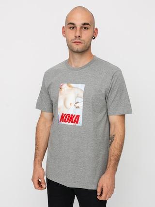 Triu010dko Koka Swimsuit (heather grey)