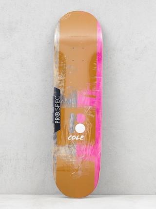 Deska Plan B Cole Painted (old black/brown/pink)