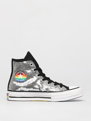 Tenisky Converse Chuck 70 Hi (white/black/university red)