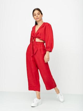 Kalhoty Brixton Luna Wmn (lava red)