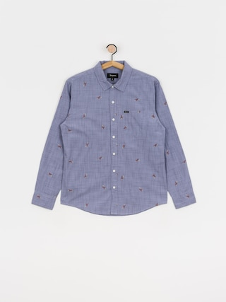 Košile Brixton Charter Print Ls (twilight blue)