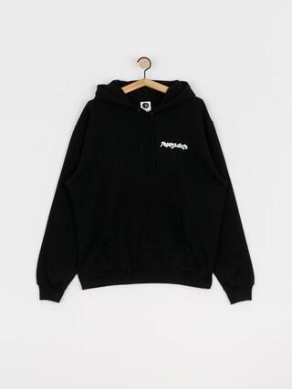 Mikina s kapucí Polar Skate Shin HD (black)