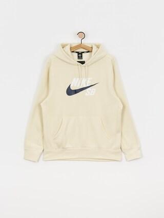Mikina s kapucí Nike SB Sb Icon HD (fossil/midnight navy)