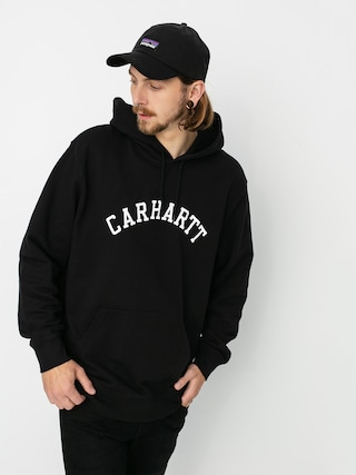 Mikina s kapucu00ed Carhartt WIP University HD (black/white)