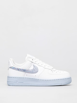 Boty Nike Air Force 1 07 Wmn (white/hydrogen blue laser blue)