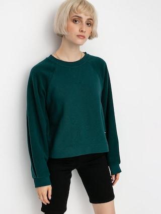 Mikina Volcom Brushism Fleece Wmn (emerald green)