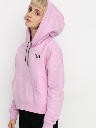 Mikina s kapucu00ed RVCA Cage HD (pink lavender)