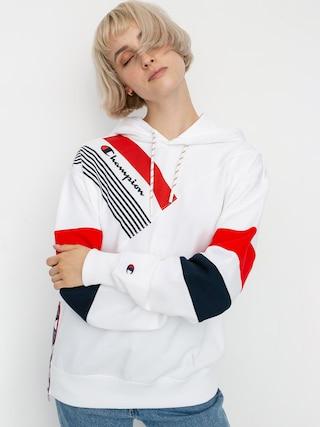 Mikina s kapucu00ed Champion Sweatshirt HD 112758 Wmn (wht)