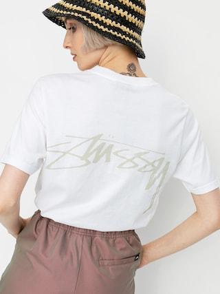 Tričko Stussy Smooth Stock Wmn (white)