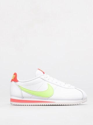 Boty Nike Classic Cortez Wmn (white/barely volt flash crimson)