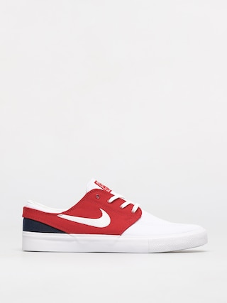 Boty Nike SB Zoom Janoski Canvas Rm (white/white university red midnight navy)