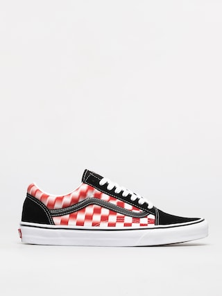 Boty Vans Old Skool (blur check/true wht/red)