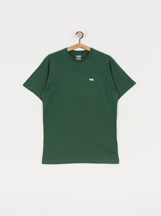 Tričko Vans Left Chest Logo (pine needle/white)
