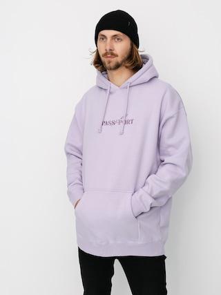 Mikina s kapucu00ed Pass Port Lavender HD (lavender)