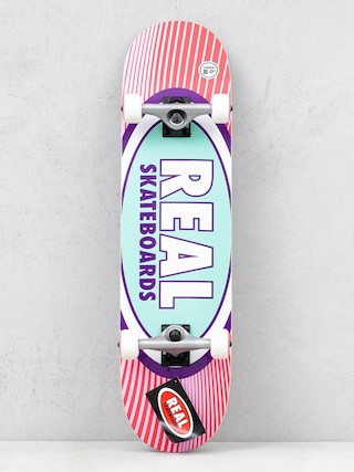 Skateboard Real Rays (red/pink)