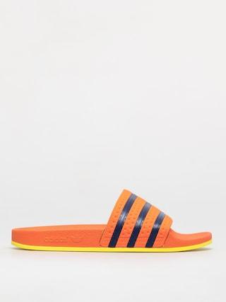 Plu00e1u017eovky adidas Originals Adilette (trace orange/hi-res orange/dark blue)