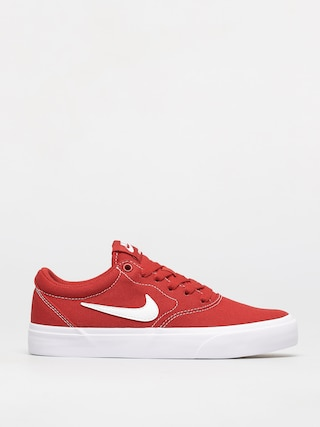 Boty Nike SB Charge Canvas (mystic red/white)