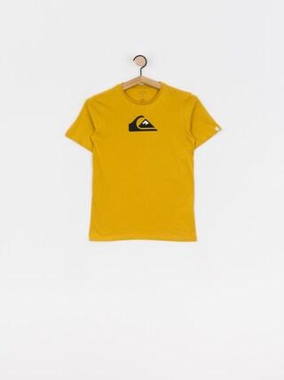 Tričko Quiksilver Comp Logo (honey)
