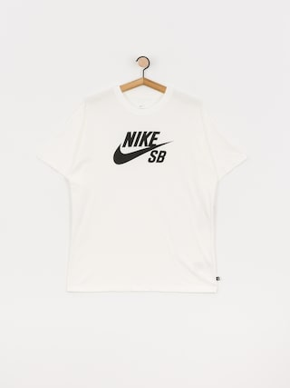 Tričko Nike SB Logo (white/black)
