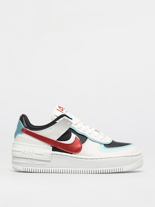 Boty Nike Af1 Shadow Wmn (summit white/chile red bleached aqua)