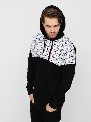 Mikina s kapucí Koka Checkmate HD (black)
