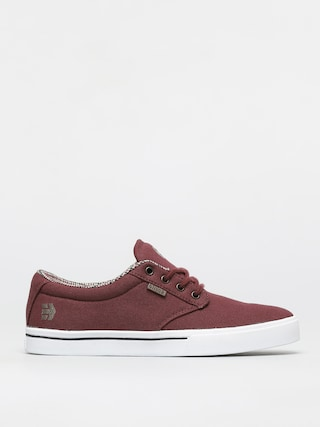 Boty Etnies Jameson 2 Eco (burgundy/tan/white)