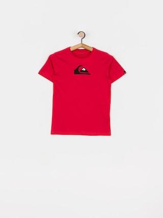 Tričko Quiksilver Comp Logo (american red)