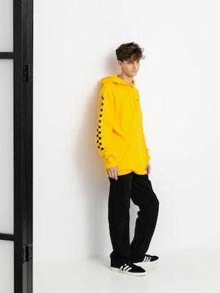 Mikina s kapucí Vans Versa HD (lemon chrome/checkerboard)