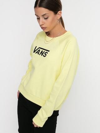 Mikina Vans Flying V Ft Boxy Wmn (yellow pear)