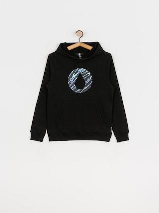 Mikina s kapucí Volcom Stone HD (black)