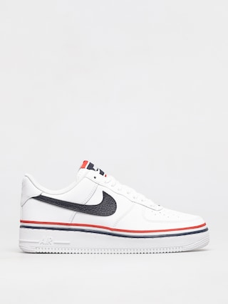 Boty Nike Air Force 1 07 Lv8 (white/obsidian habanero red)