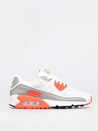Boty Nike Air Max 90 (white/white hyper orange lt smoke grey)
