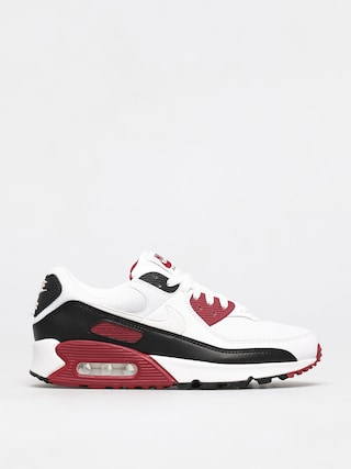 Boty Nike Air Max 90 (white/white new maroon black)