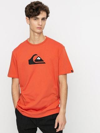Tričko Quiksilver Comp Logo (chili)