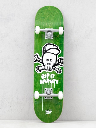 Skateboard Mob Skateboards Skull (green)