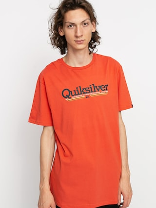 Tričko Quiksilver Tropical Lines (chili)