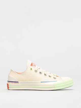 Tenisky Converse X PIGALLE  Chuck 70 Ox (white/barely volt)