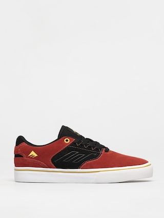 Boty Emerica The Low Vulc (black/orange/yellow)