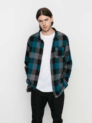 Kou0161ile Quiksilver Motherfly Flannel (blue coral motherfly)