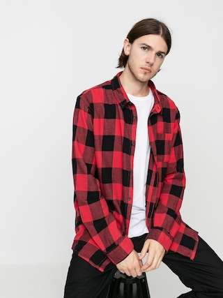 Kou0161ile Quiksilver Motherfly Flannel (americas red motherfly)