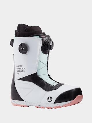 Boty na snowboard Burton Ruler Boa (white/black/multi)