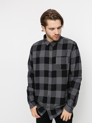 Kou0161ile Quiksilver Motherfly Flannel (irongate motherfly)