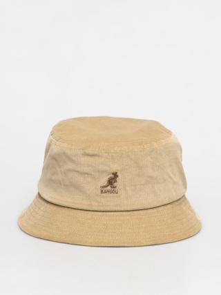 Klobouk Kangol Cord Bucket (beige)
