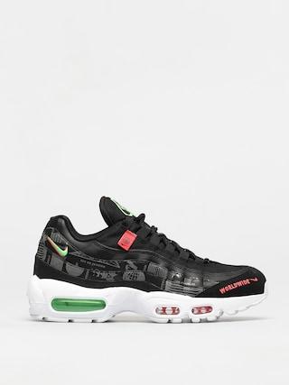 Boty Nike Air Max 95 SE (black/white green strike flash crimson)