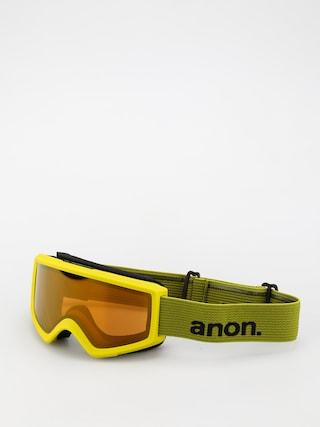 Bru00fdle na snowboard Anon Helix 2.0 Perceive (green/perceive sunny bronze)