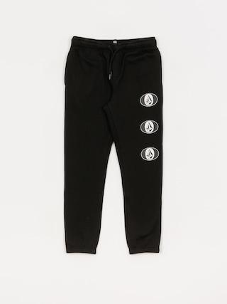 Kalhoty Volcom Stone Stack Fleece (black)