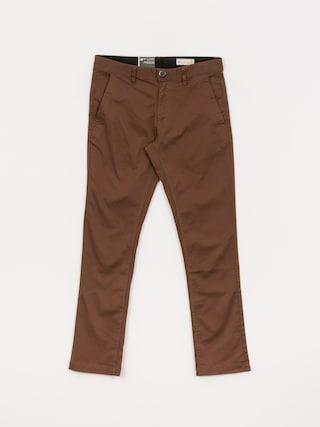 Kalhoty Volcom Frickin Slim Chino (vintage brown)