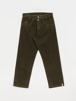 Kalhoty Malita Cord 94 (olive)